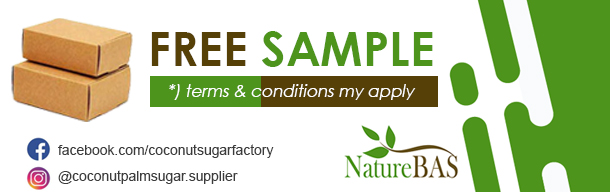 free sample coconut sugar