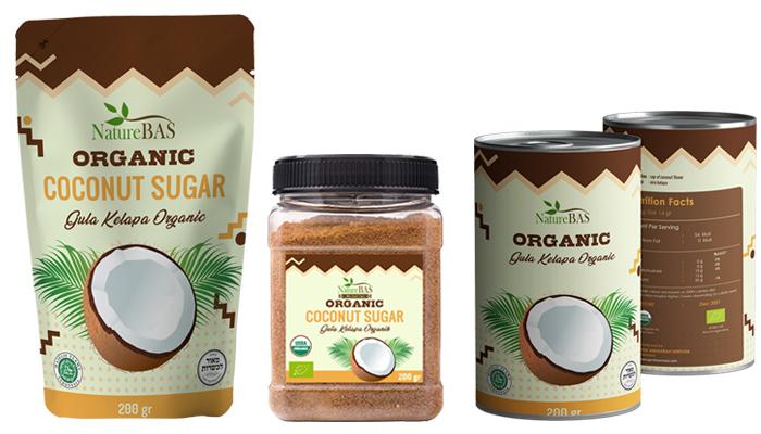 OEM coconut sugar packaging BAS