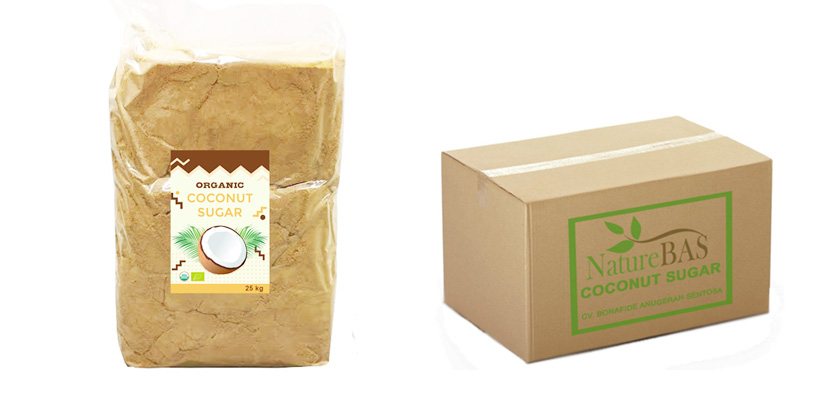 coconut sugar bulk packaging