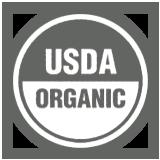 USDA logo putih bas