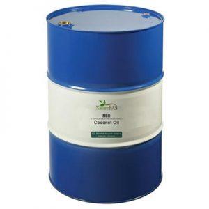 rbd coconut oil in drum