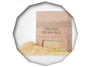 indonesia brown rice organic